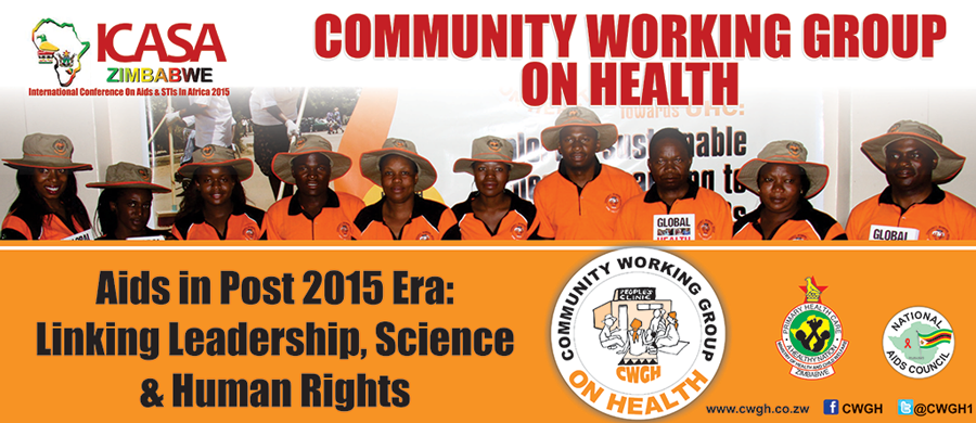 CWGH at ICASA 2015 in Zimbabwe