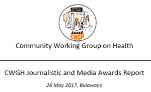 CWGH Media Awards Report