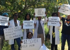 Chaos as govt fires over 200 doctors