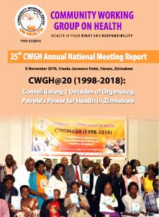 CWGH 2018 Annual Report